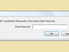 pdf is protected document open password