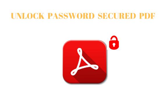 unlock owner password protected pdf