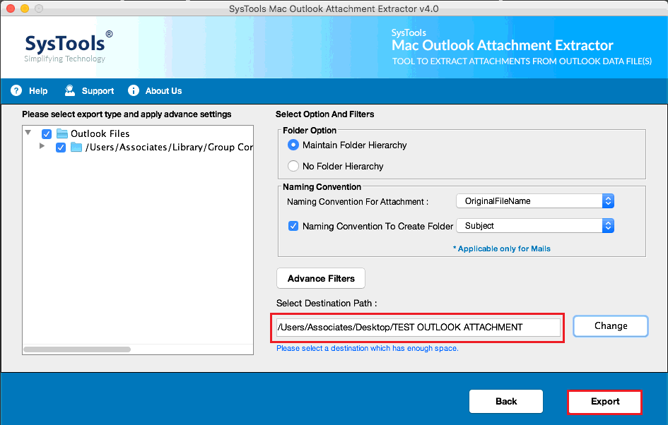 outlook attachment extract