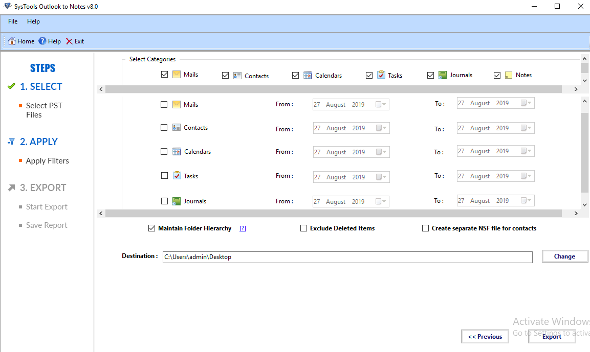 batch open multiple PST files in Lotus Notes