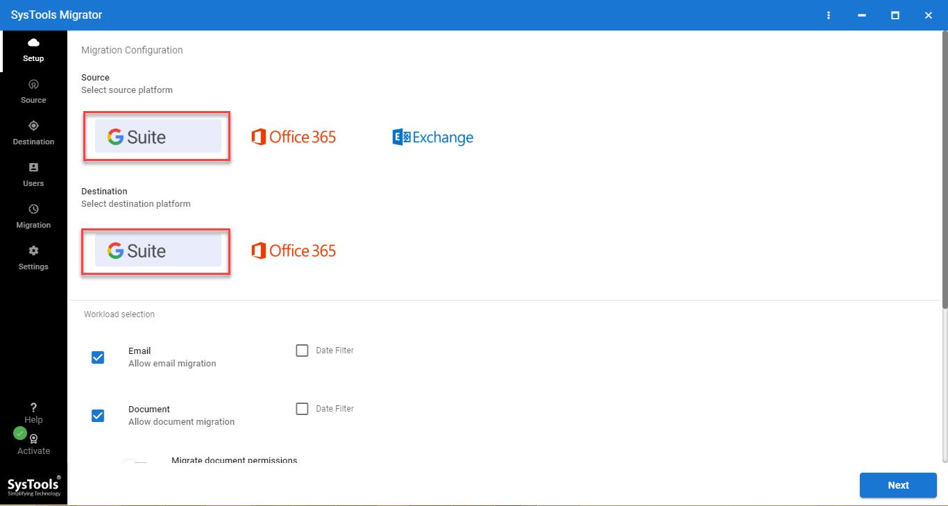 merge multiple G Suite accounts