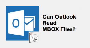 can outlook read mbox files