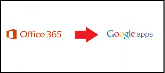 office 365 migration to google apps
