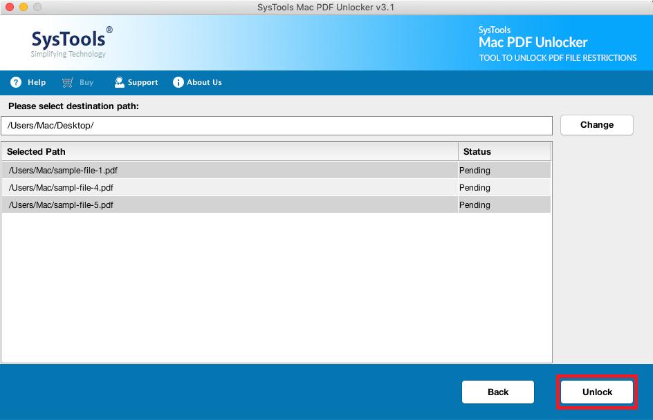 unlock pdf files on mac
