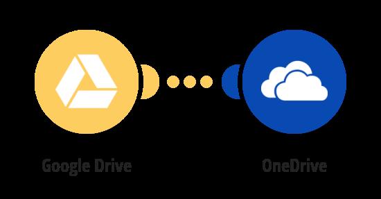Transférer des Fichiers de Google Drive vers OneDrive