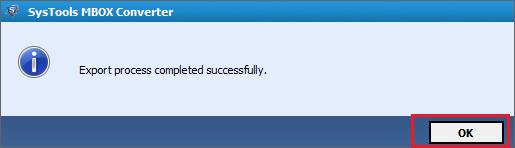 convertis avec succès en fichiers PST