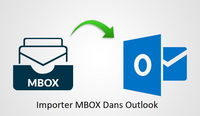importer mbox dans outlook