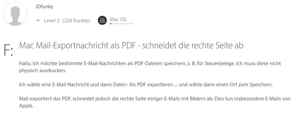 Unvollständiges PDF