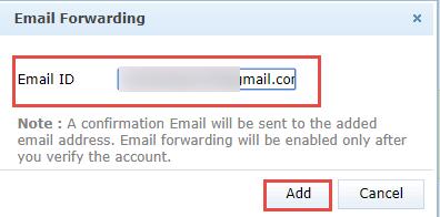 Zoho zu Google Mail