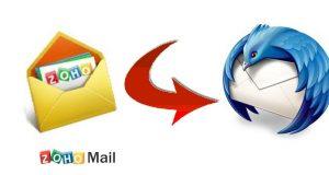 Konfigurieren Sie Zoho Mail in Thunderbird