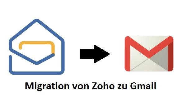 Migration von Zoho zu Gmail