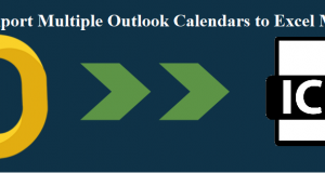 Export Multiple Outlook Calendars to Excel Mac