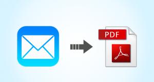 apple mail au pdf