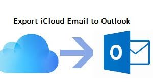 export iCloud email to outlook