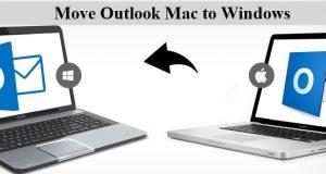 Convert Mac Outlook File to Window