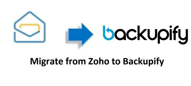 Migrate from Zoho to Backupify