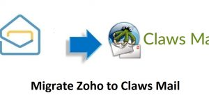 Migrate Zoho to Claws Mail