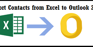 Add Multiple Contacts to Outlook from Excel