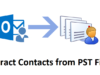 Extract Contacts from PST File Without Outlook