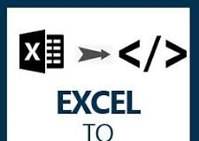 excel to html on mac