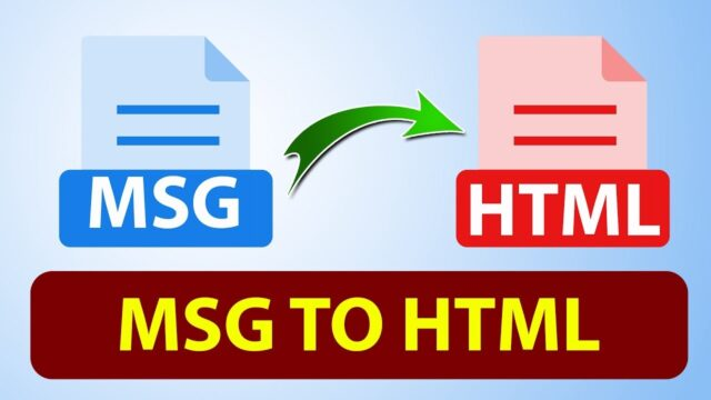 Outlook MSG to HTML