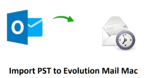 Import PST to Evolution Mail Mac