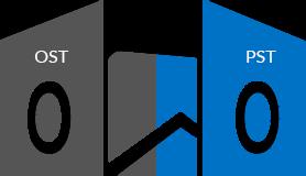 Outlook OSTファイル PSTファイル 変換