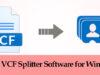 best VCF splitter software for windows