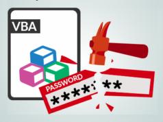remove VBA password