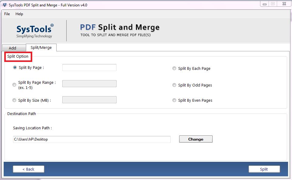 wie kann ich eine pdf-Datei aufteilen