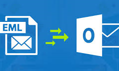 Transfer EML files to Outlook